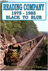 Reading Company 1975-1985 Black to Blue DVD
