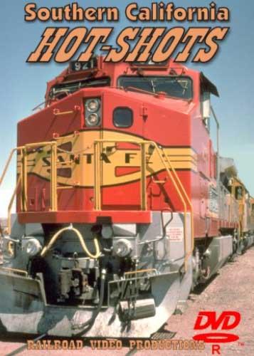 Southern California Hot-Shots DVD Railroad Video Productions RVP162D