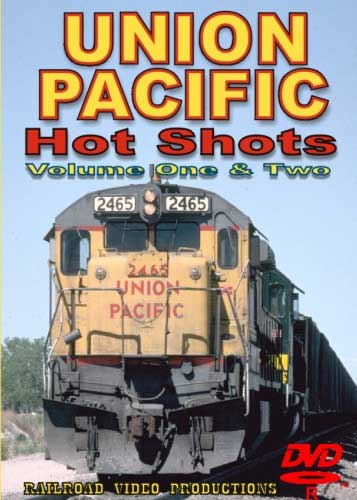 Union Pacific Hot Shots Volume 1 & 2 DVD Railroad Video Productions RVP118-121D