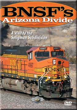 BNSFs Arizona Divide DVD Railway Productions Train Video Railway Productions AZDVD 616964280077