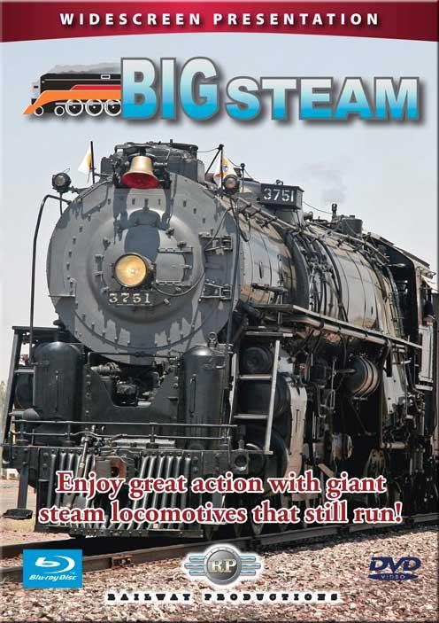 Big Steam DVD Train Video Railway Productions BIGDVD 616964037510
