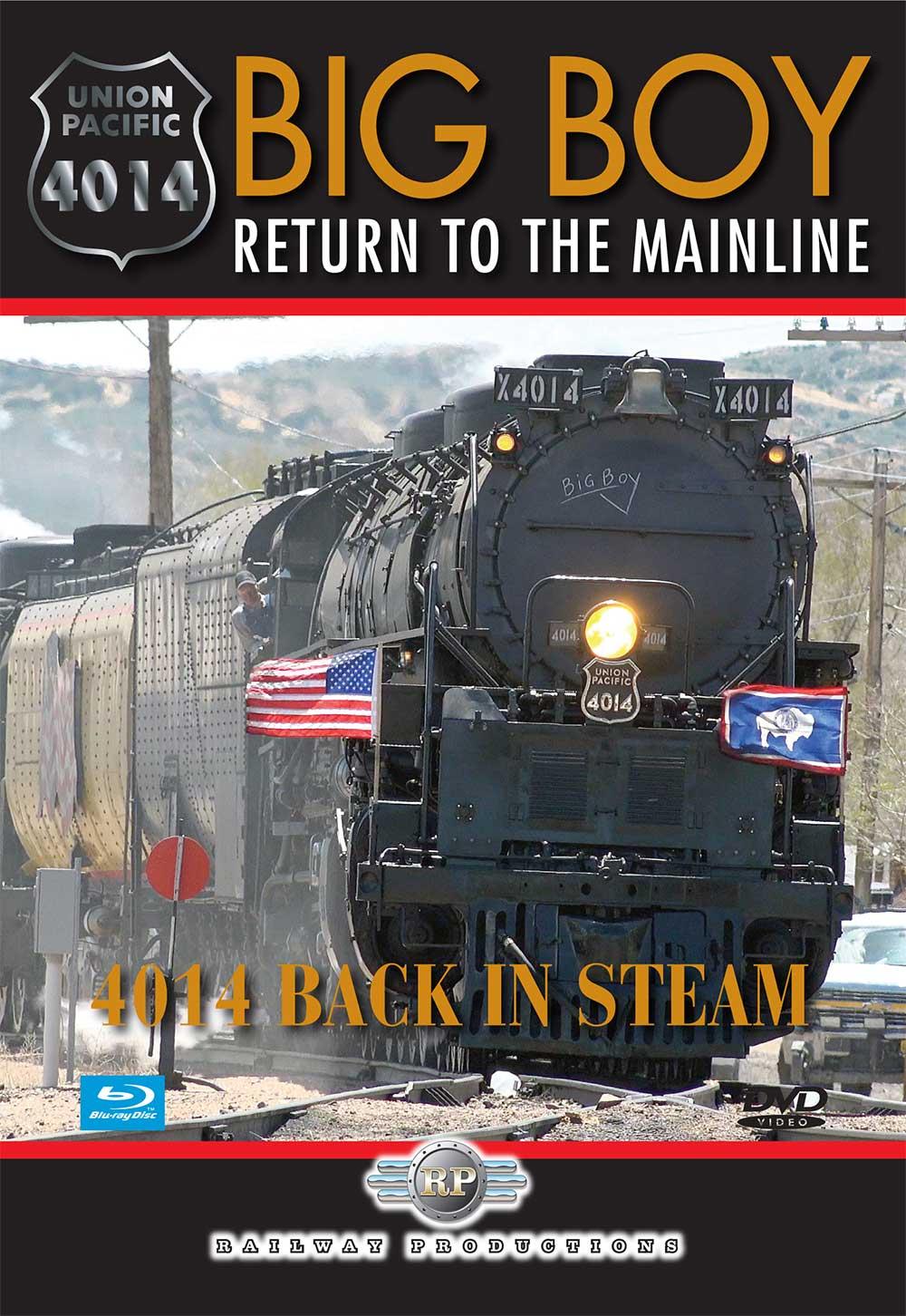 Big Boy 4014 Return to the Mainline DVD Railway Productions 4014DVD
