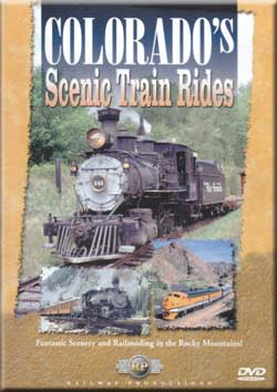 Colorados Scenic Train Rides DVD Railway Productions Train Video Railway Productions COLODVD