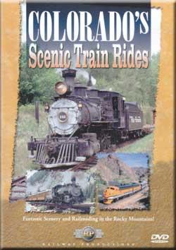 Colorados Scenic Train Rides DVD Railway Productions Railway Productions COLODVD