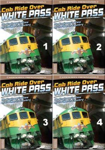 Cab Ride Over White Pass Set 4 Discs Part 1-4 Railway Productions CRWHTPSSSET
