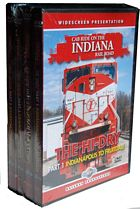 Cab Ride on the Indiana Rail Road 4 DVD Set Hi-Dry & Big Coal