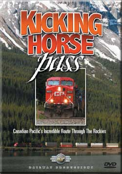 Kicking Horse Pass DVD Railway Productions Train Video Railway Productions KICKDVD 616964290076