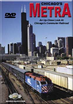 Chicagos Metra DVD Railway Productions Train Video Railway Productions METRADVD 616964900494