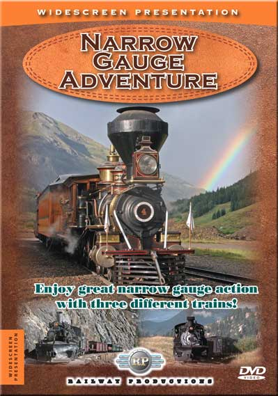 Narrow Gauge Adventure DVD Train Video Railway Productions NGADVDVD 616964005403
