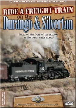 Ride A Freight Train on the Durango and Silverton DVD Railway Productions RFTDS 616964002150