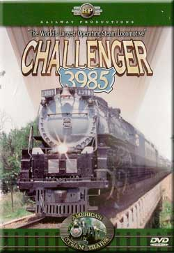 Challenger 3985 DVD Railway Productions Train Video Railway Productions RP3985DVD 616964239853