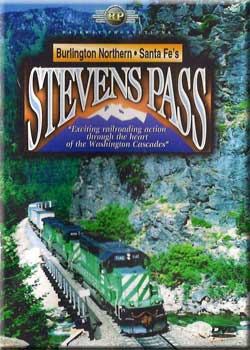BNSFs Stevens Pass DVD Railway Productions Train Video Railway Productions STEVDVD 616964210678