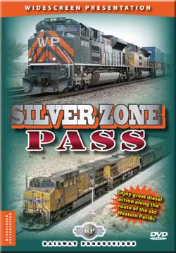 Silver Zone Pass DVD Railway Productions SVPDVD 616964068774