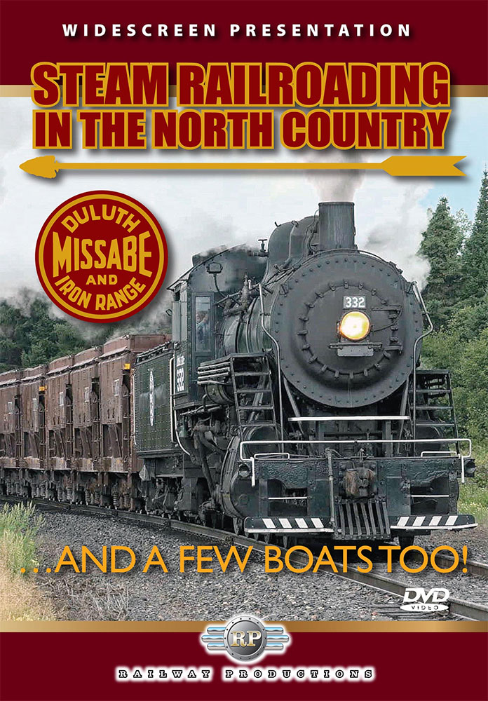 Steam Railroading in the North Country DVD Railway Productions 28DVD 616964003324