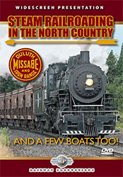 Steam Railroading in the North Country DVD