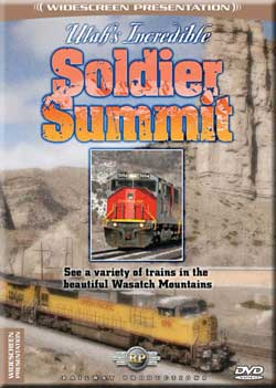 Utahs Incredible Soldier Summit DVD Railway Productions Train Video Railway Productions UISSDVD 616964000330
