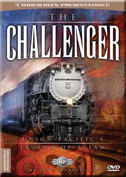 Challenger Union Pacifics Legend of Steam DVD Railway Productions Train Video Railway Productions UP3985 616964397706