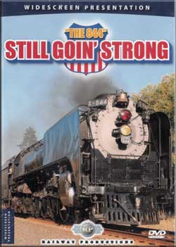 844 Still Goin Strong DVD Train Video Railway Productions UP844DVD 616964008442