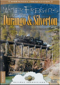 Winter Freights on the Durango and Silverton DVD Train Video Railway Productions WFDS 616964004789