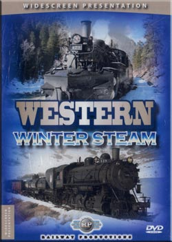 Western Winter Steam DVD Railway Productions WWSDVD 616964006189
