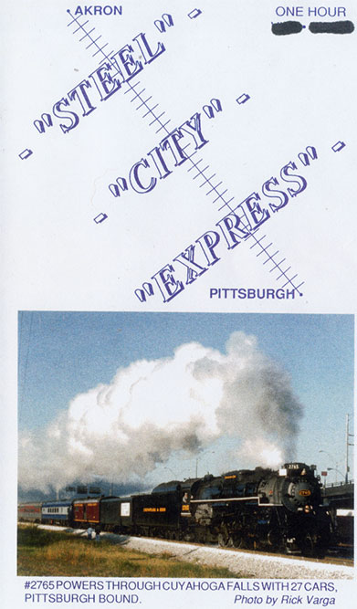 Akron Steel City Express DVD Train Video Revelation Video RVQ-ASCE