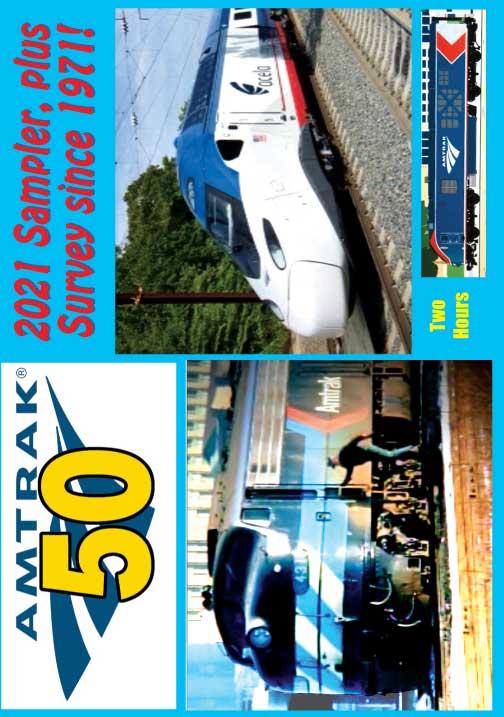Amtrak 50 1971-2021 DVD Revelation Video RV-AM50