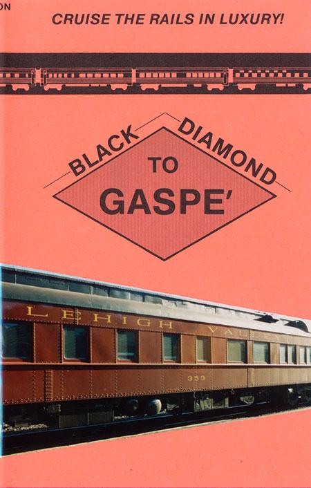 Black Diamond to Gaspe DVD Train Video Revelation Video RVQ-BDTG