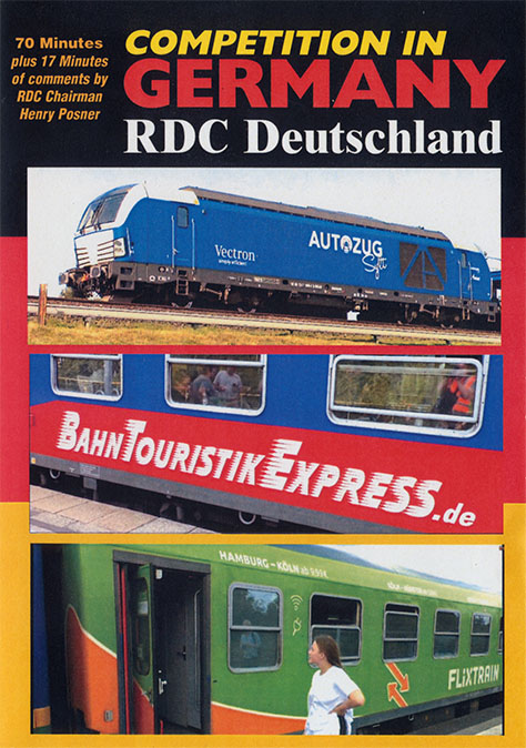 Competition in Germany RDC Deutschland DVD Revelation Video RVQ-CIGE