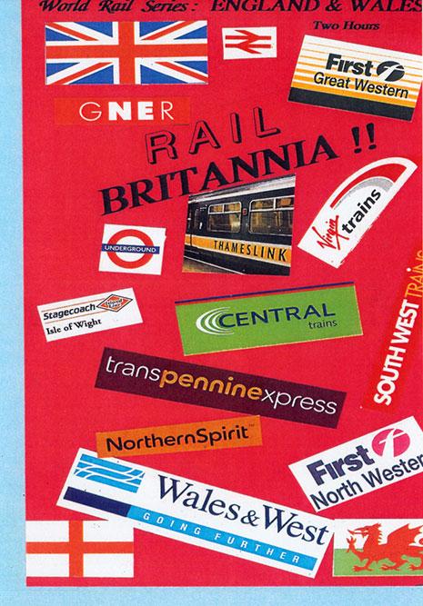 England & Wales Rail Britannia DVD Train Video Revelation Video RVQ-BRIT