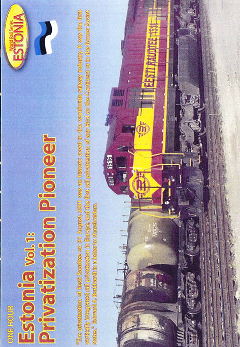 Estonia Volume 1 Privatization Pioneer DVD Revelation Video RVQ-EPP1