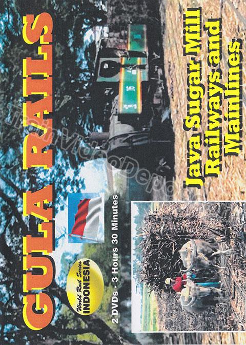 Gula Rails - Java Sugar Mill Railways and Mainlines 2 Disc DVD Revelation Video RVQ-GULA