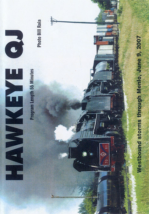 Hawkeye QJ DVD Train Video Revelation Video RVQ-HEQJ