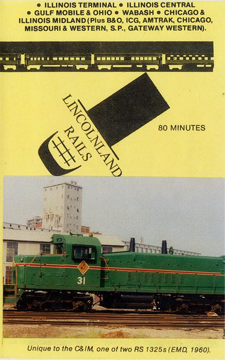 Lincolnland Rails DVD Revelation Video RVQ-LLRS