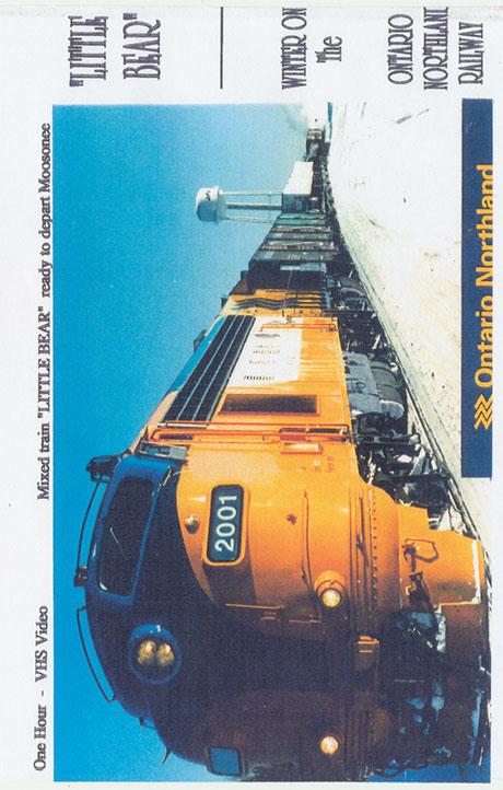 Little Bear - Winter on the Ontario Northland Railway DVD Train Video Revelation Video RVQ-LBON