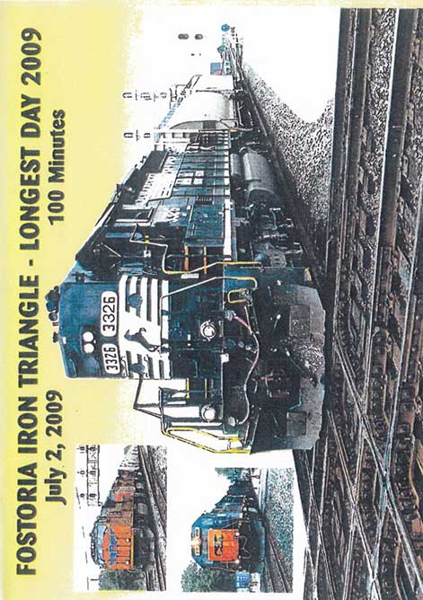 Longest Day 2009 Fostoria Iron Triangle DVD Revelation Video RVQ-LDFI