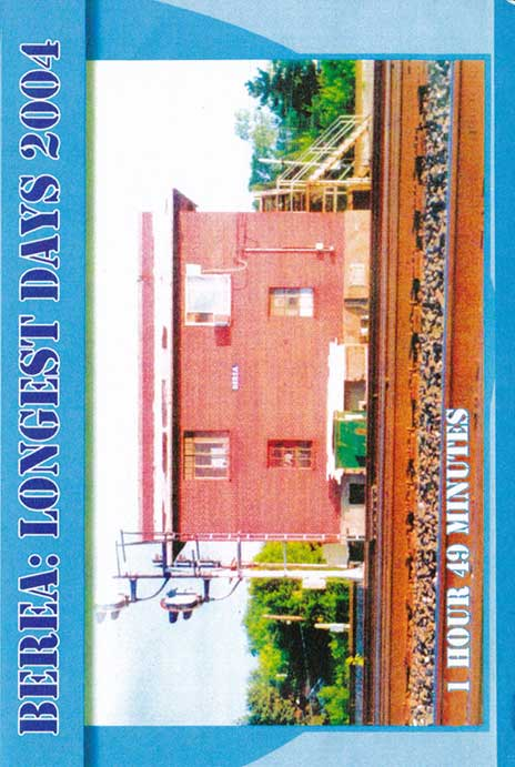 Longest Days Berea 2004 DVD Revelation Video RVQ-LDBE