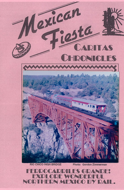 Mexican Fiesta Caritas Chronicles 2 Disc DVD Train Video Revelation Video RVQ-MFCC