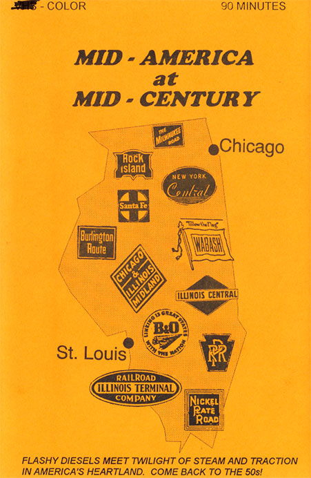 Mid America at Mid Century DVD Train Video Revelation Video RVQ-MAMC