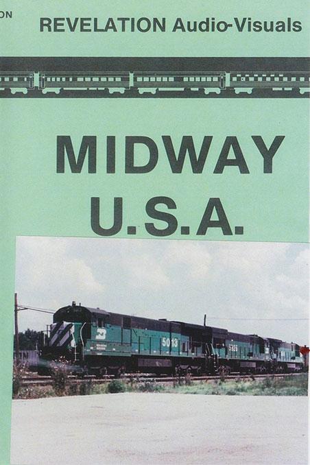 Midway U.S.A. DVD Train Video Revelation Video RVQ-MWUS
