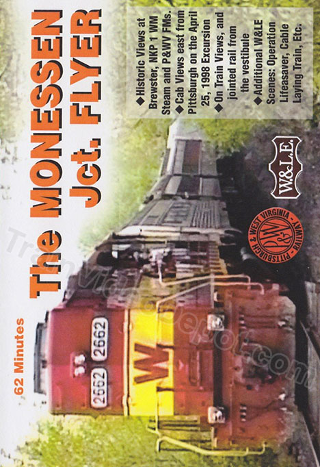 Monessen Jct Flyer DVD Revelation Video RVQ-TMJF