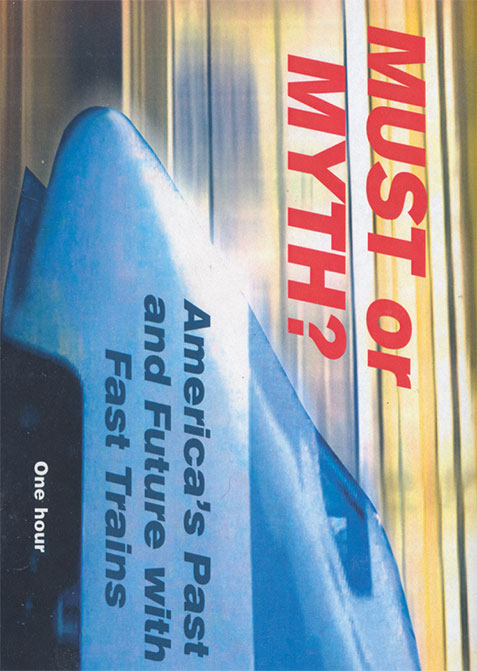 Must or Myth: Americas Past and Future with Fast Trains DVD Revelation Video RVQ-MOM
