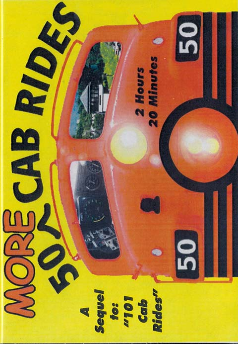 50 More Cab Rides DVD Train Video Revelation Video RVQ-50CAB