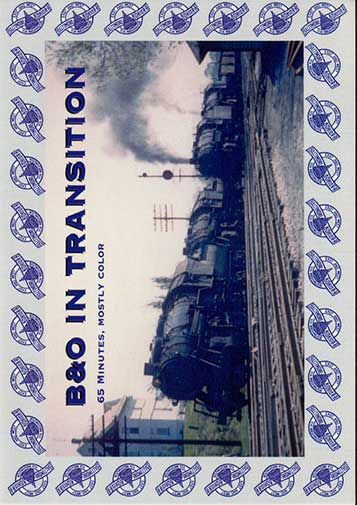 B&O In Transition DVD Train Video Revelation Video RVQ-BOIT