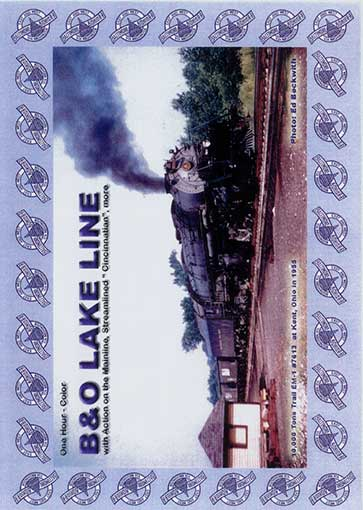 B&O Lake Line DVD Train Video Revelation Video RVQ-BOLL