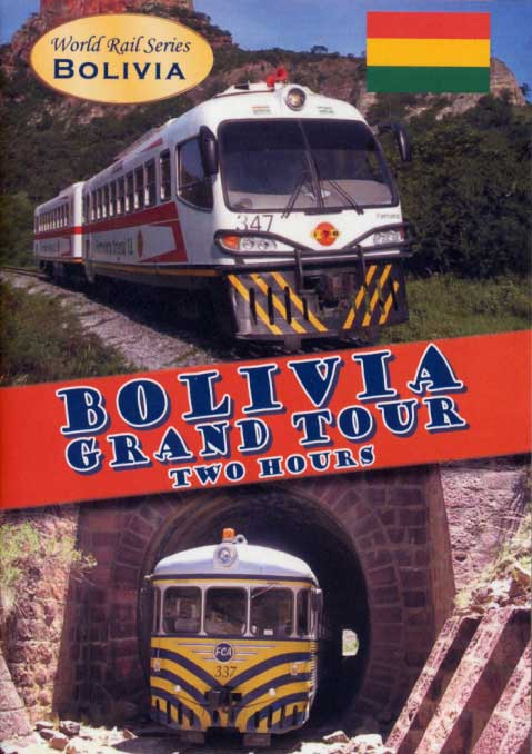 Bolivia Grand Tour Two Hours DVD Train Video Revelation Video RVQ-BVGT
