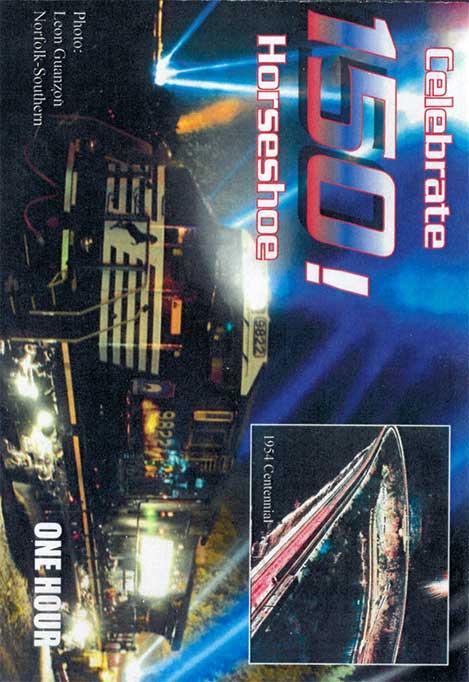 Celebrate 150 Horseshoe DVD Train Video Revelation Video RVQ-C150