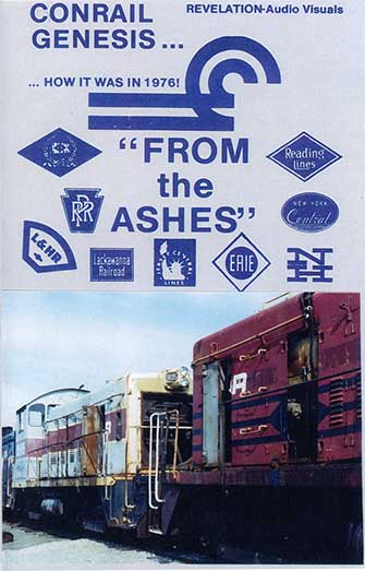 Conrail Genesis - From the Ashes DVD Train Video Revelation Video RVQ-CGFA
