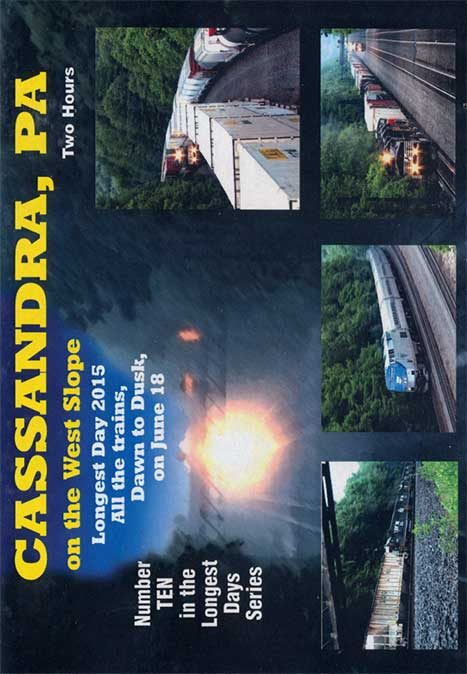 Cassandra PA on the West Slope - Dawn to Dusk DVD Train Video Revelation Video RVQ-CWS
