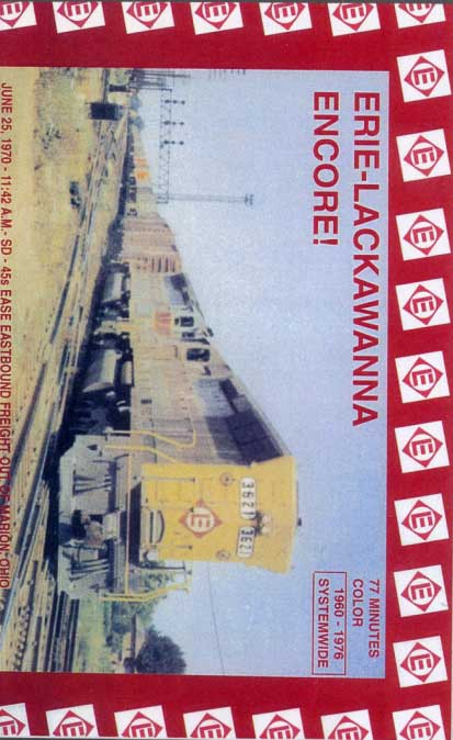 Erie Lackawanna Encore DVD Revelation Video RVQ-ELEN