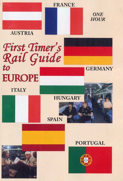 First Timers Rail Guide To Europe DVD Train Video Revelation Video RVQ-EURAIL
